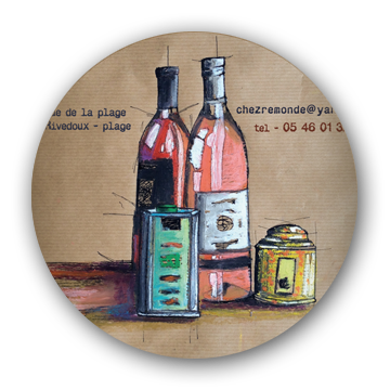 bar cave à vins rivedoux
